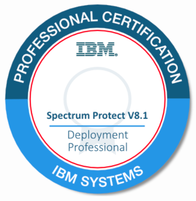 IBM Sectrum Protect v8.1 Deployment Professional